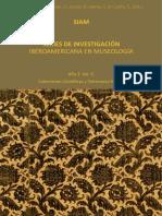 Series de Investigación Iberoamericana en Museología Año 3. Vol. 5. Colecciones Científicas y Patrimonio Natural