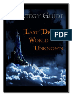 Last Dream World Unknown Strategy Guide v1.01
