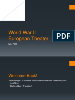 World War II Europe theater.ppt