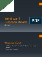 World War II Europe theater.ppt
