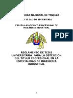Reglamento de Tesis Ing.ind.