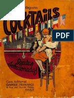 Cocktails Recetas Seleccionadas - Miguel R Reguera (1930)