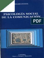 Cuesta Ubaldo - Psicologia Social De La Comunicacion .pdf