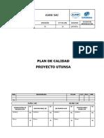 Utunsa-sgc-pln-001 Plan de Calidad Metal Mecánico