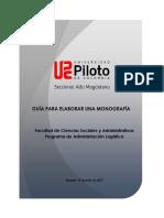 Documento Guía Para Elaboración de Monografías V3
