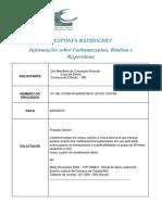 Informações Sobre Carbamazepina, Ritalina e Risperidona