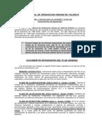 Presentación y Consulta Documentación PGOU Valencia