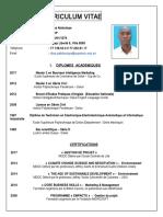 CV Pape Abdoulaye Diop - 2017