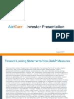 AtriCure Investor Book 8-1-17