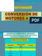 Conversion de Motores a Combustibles Alternos