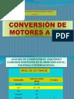 Conversion de Motores a Combustibles Alternos