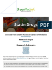 Statin Drugs Research by Green Med Report 2017