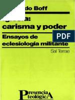 1_pdfsam_2.-Leonardo Boff - Iglesia Carisma y Poder x JGuzman