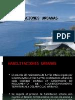 Habilitaciones Urbanas - 1