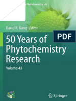 (Recent Advances in Phytochemistry 43) Michael H. Beale, Jane L. Ward (Auth.), David R. Gang (Eds.)-50 Years of Phytochemistry Research_ Volume 43-Springer International Publishing (2013)