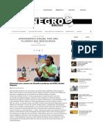 Noguera Renato & Amorim Tomaz (2015) Afroperspectividade. Por Uma Filosofia Que Descoloniza