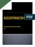 Asociatividad en Pymes