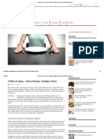 A Dieta Do Jejum – Como Funciona, Cardápio e Dicas - MundoBoaForma.com