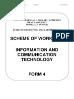 Rancangan Pelajaran ICT 2016 F4