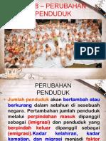 Bab Perubahan Penduduk