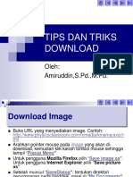 Tips Dan Triks Download Materi