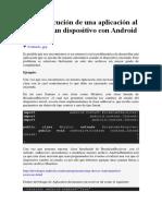 Auto Ejecucion en Android