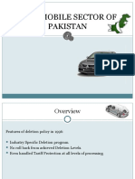 Automobile Industry of Pakistan