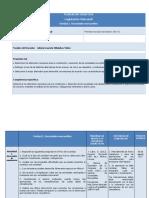 Planeación Didáctica Legislación Mercantil. Unidad 2.