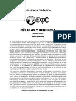 Células y Herencia (Secuencia Didáctica)
