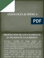 AXIOLOGÍA JURÍDICA