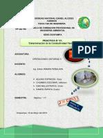 Determinación de Conductividad Termica_UNDAC