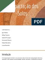 Apresentação Seminário - Compactação Dos Solos