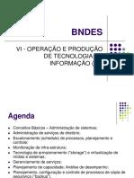 BNDES - Operação e Produção de TI