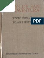 Buenaventura de Fidanza - Obras Completas I, Madrid, 1945