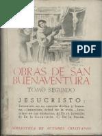 Buenaventura de Fidanza - Obras Completas II, Madrid, 1946