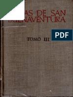 Buenaventura de Fidanza - Obras Completas III, Madrid, 1947
