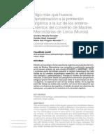 Aproximación a La Población Argarica. Rihuete Et Al