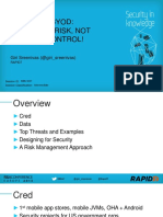 Mbs w07 Securing Byod Mitigating Risk Not Forcing Control