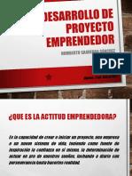 CLASE 1 - Actitud Emprendedora