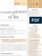 August 8 Consequences of Sin