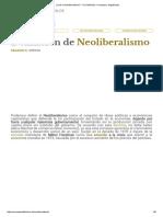 ¿Qué Es Neoliberalismo_ - Su Definición, Concepto y Significado