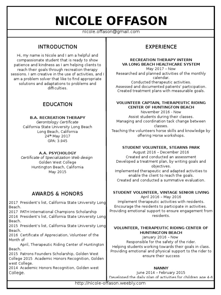 Linked in resume volunteering applied psychology xflitez Choice Image