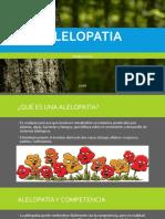 Estudio de Caso Alelopatia