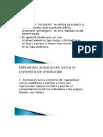Lidia Fernandez Analisis de Institucion
