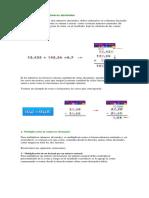 Guía de Matemáticas Andrés DECIMALES