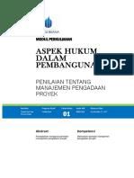 Modul Aspek Hukum Dalam Pembangunan [TM1]
