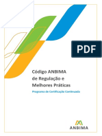 Código Anbima de Regulação e Melhores Práticas
