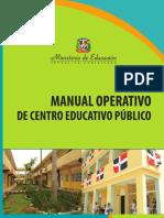 Manual Operativo de Centro Educativo Publico Minerd
