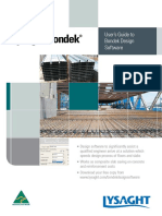 Bondek Software UserGuide