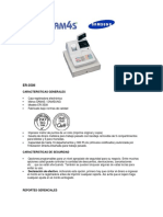 Carateriticas Caja Rtegistradora